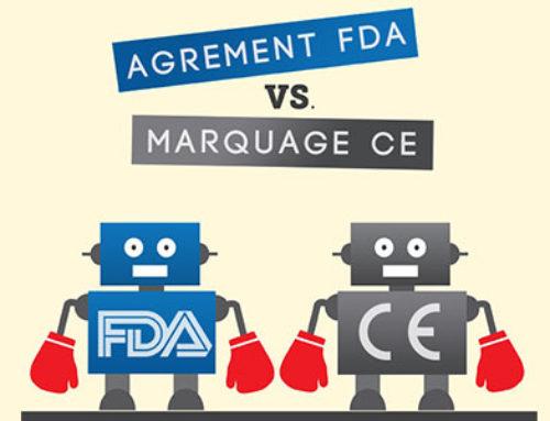 Différence marquage CE et agrément FDA défibrillateur ?