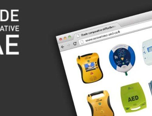 Étude comparative Défibrillateurs Automatisés Externes (DAE)