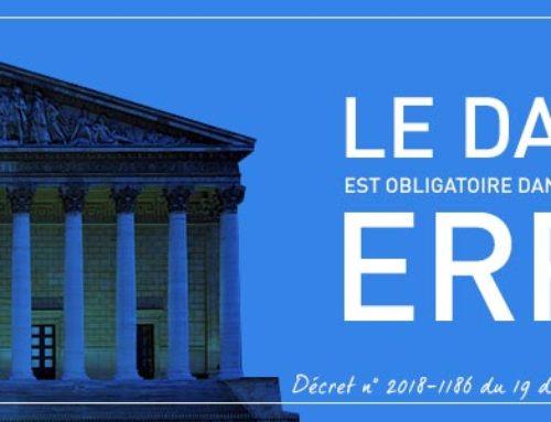 Le Défibrillateur Automatisé Externe est obligatoire dans les lieux recevants du public (ERP) – Décret n° 2018-1186 du 19 décembre 2018