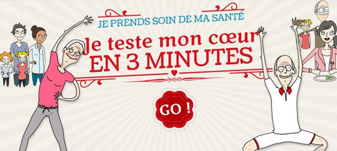 Tester votre cœur en 3 min !