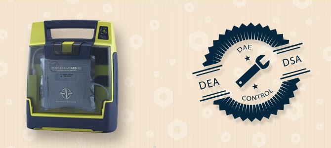 Maintenance défibrillateurs Cardiac Science Powerheart G3