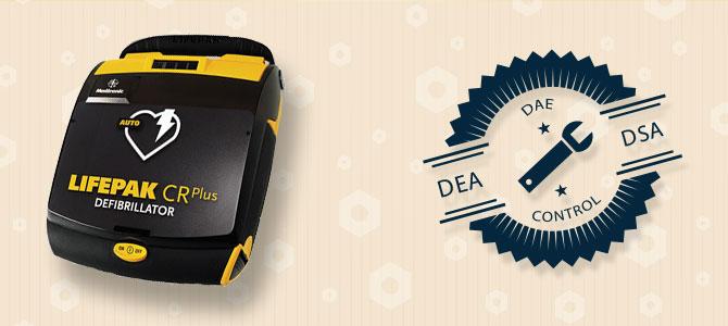 Maintenance défibrillateurs Lifepack CR PLUS
